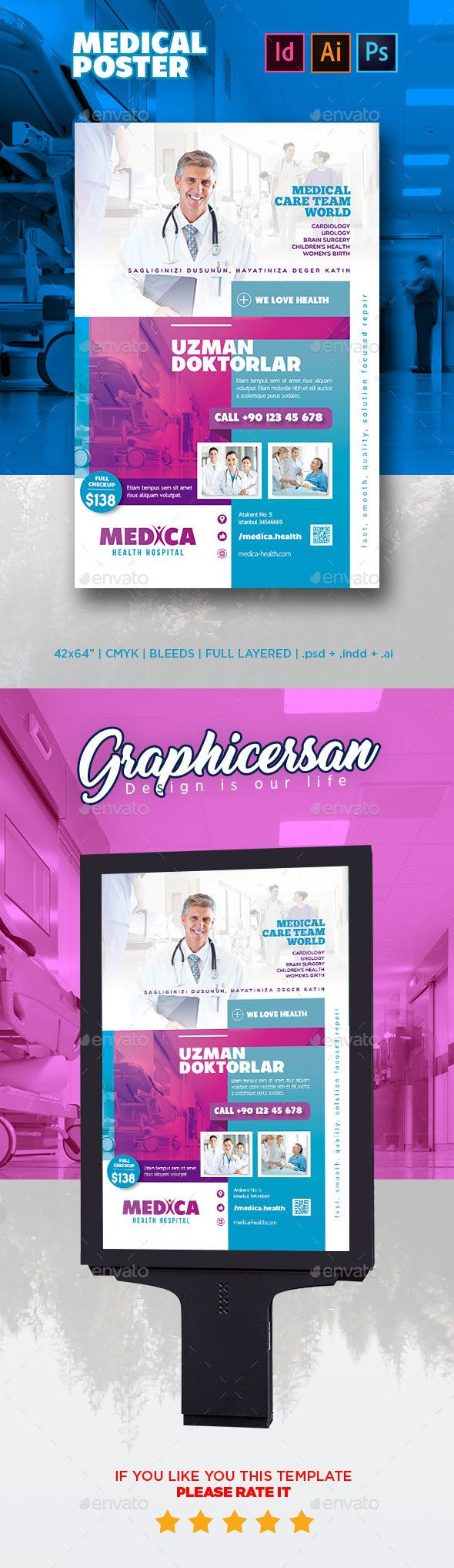 Medical Poster | Medical posters, Medical and Ai illustrator