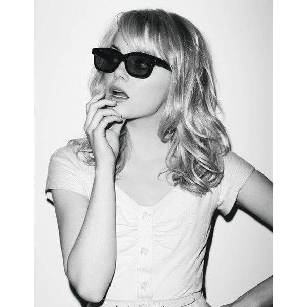 photo ❤ liked on Polyvore featuring emma stone and people