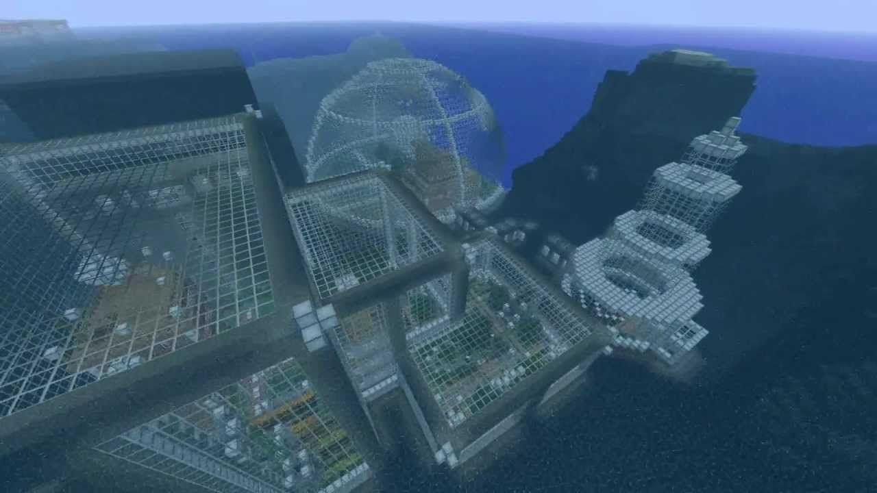 Awesome Underwater Building Minecraft Mostly Builds Minecraft