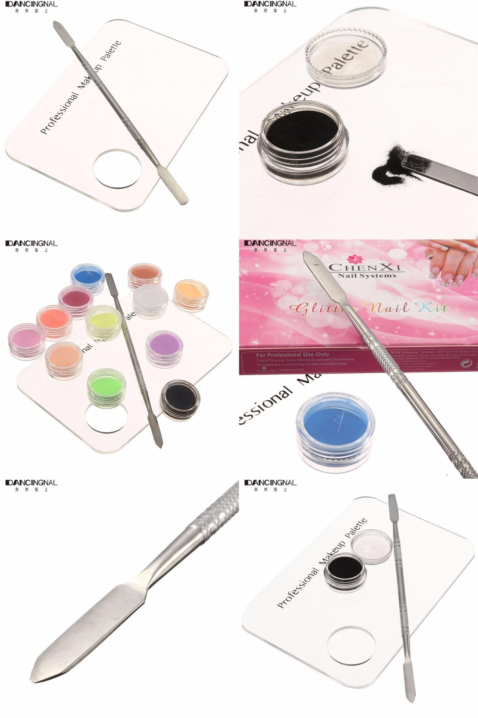 [Visit to Buy] 1 Set Nail Makeup Mixing Palette Cosmetic