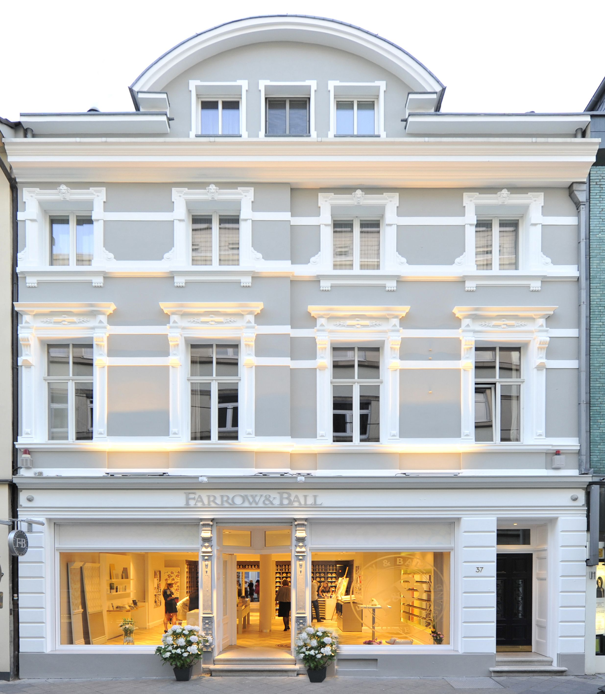 Farrow & Ball Dusseldorf showroom | Color | Pinterest | Farrow ball ...