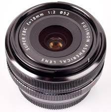 Fuji 18mm F2 prime