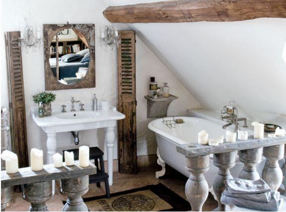 Bagno Stile Francese : Idee per arredare il bagno a casa di ro idee bagno in
