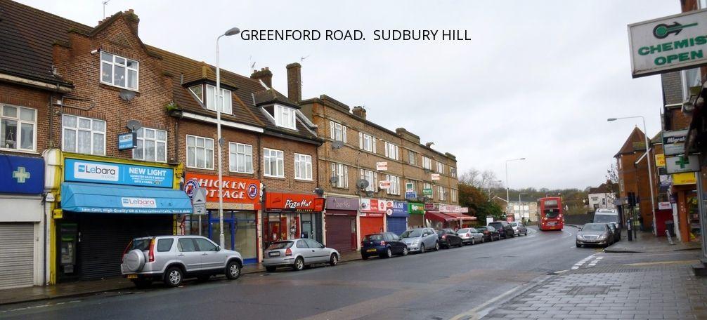 Greenford Road Sudbury Hill Scenery London Street View