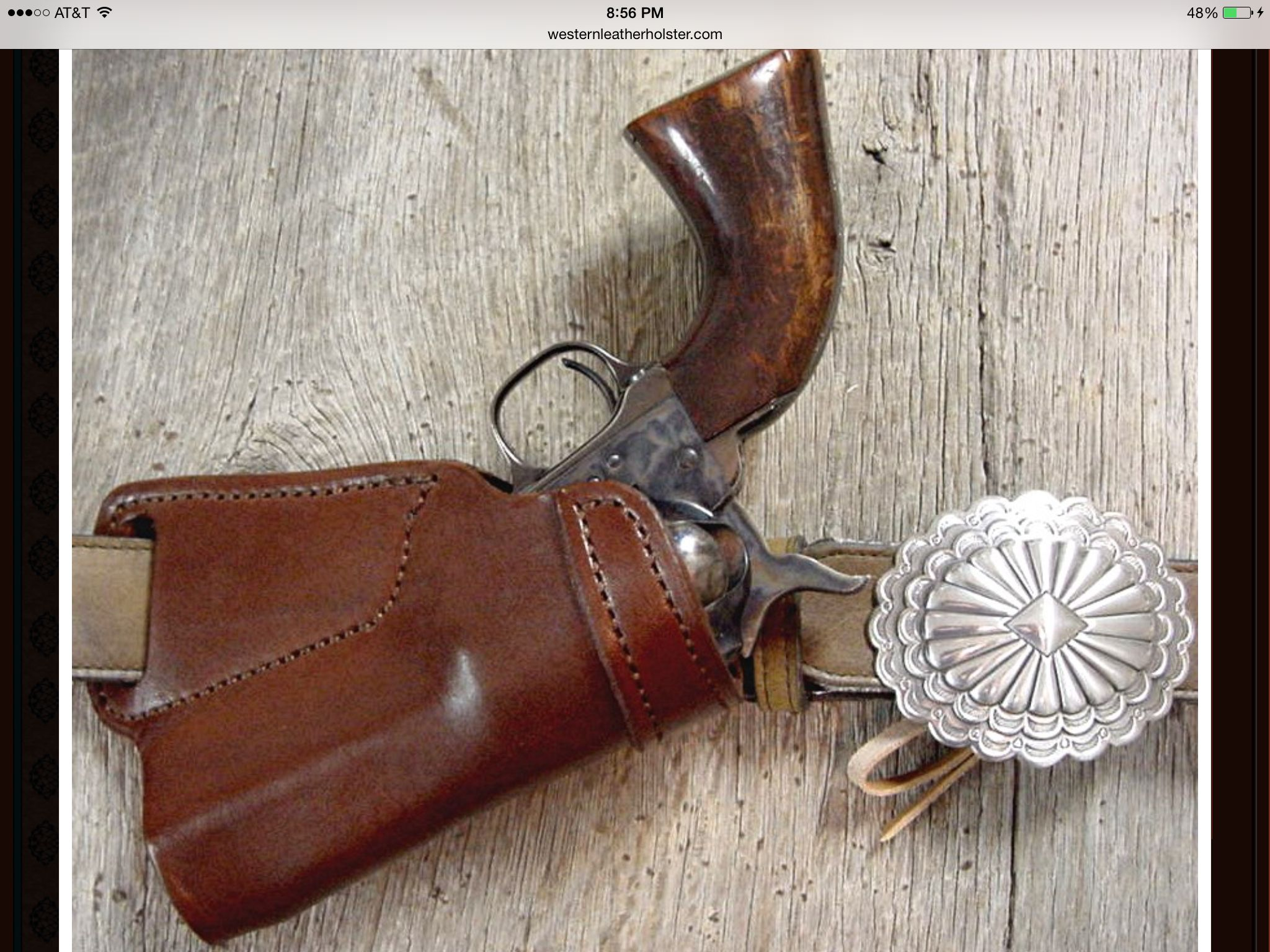 Small of back holster | Projects to Try | Cowboy gear