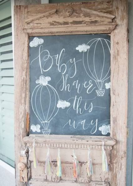 27 trendy baby shower twins boy and girl theme air balloon