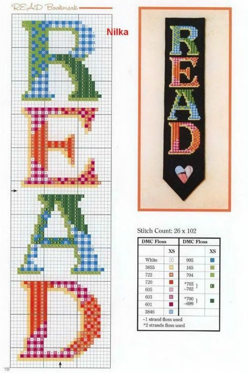 Pin by Lisa Lowe on Cross stitch - Bookmarks | Pinterest ...
