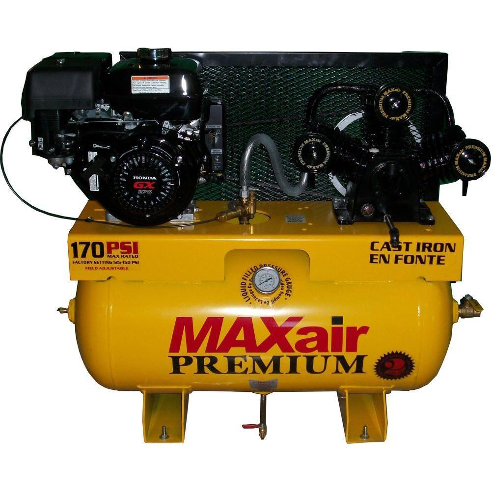 Maxair Premium Industrial Truck Mount 30 Gal. 9 HP Honda