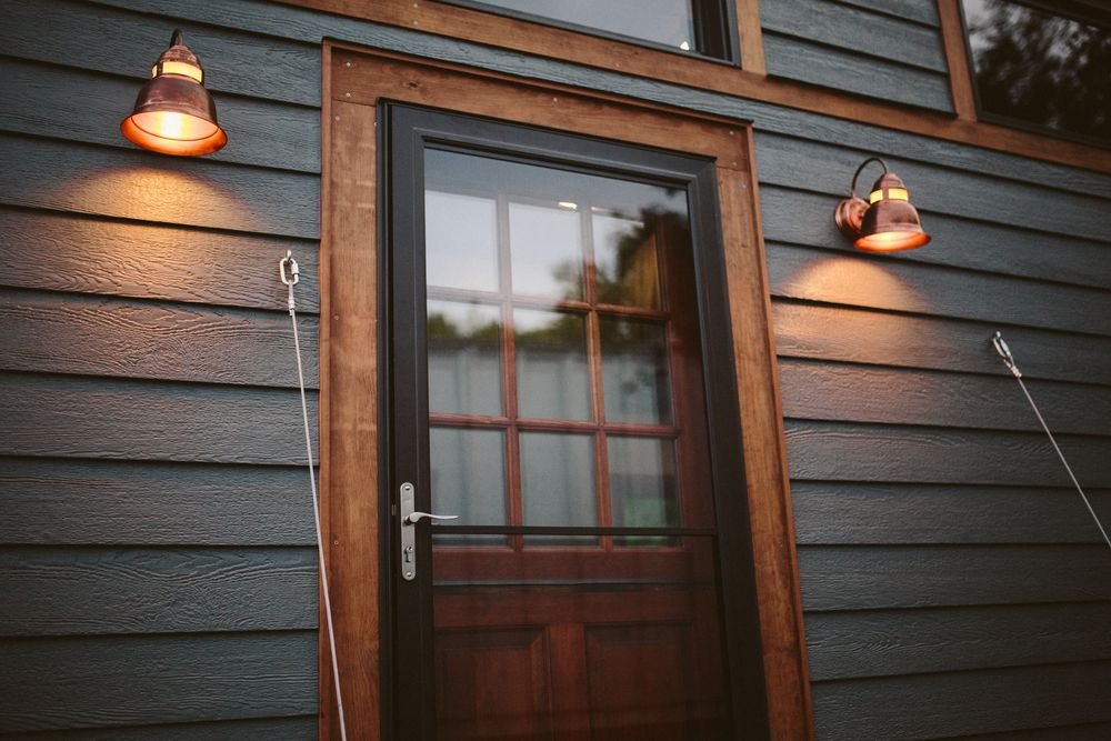 The Mayflower - LP Smartside Exterior with copper lights