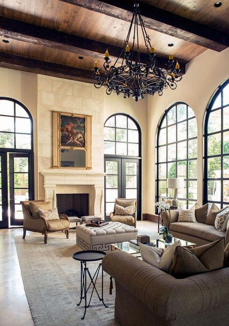31 Awesome Mediterranean Living Room Spacious Room In 2020 Mediterranean Living Rooms French Country Decorating Living Room House And Home Magazine