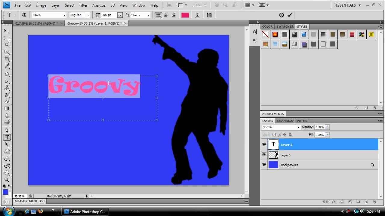 Photoshop cs4 simple silhouette tutorial photoshop tips photoshop cs4 simple silhouette tutorial baditri Images