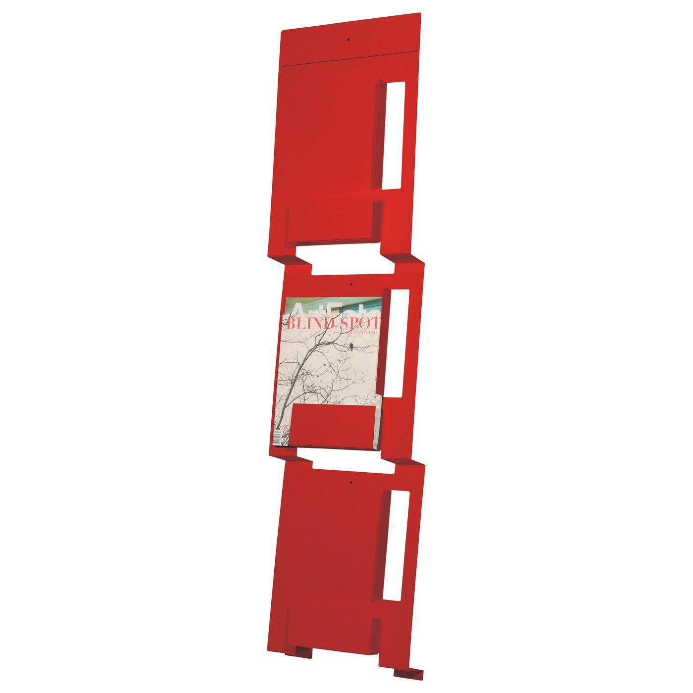magazine rack office. Modern Office Accessories - 2D:3D Wall Magazine Rack By Blu Dot 4