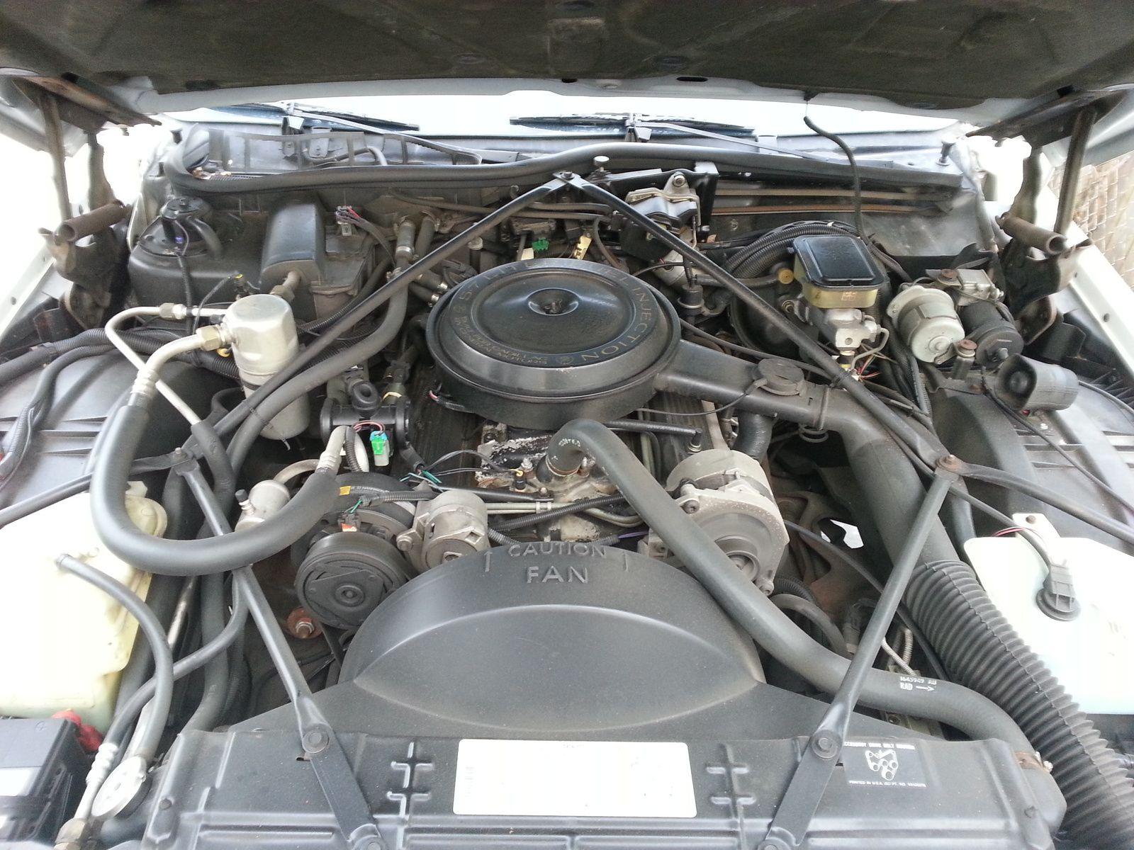 1994 Cadillac Fleetwood Used Engine Description: Gas Engine 5.7, 8 ...