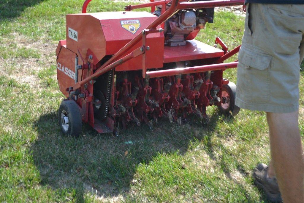Core aeration core aeration aerator lawn