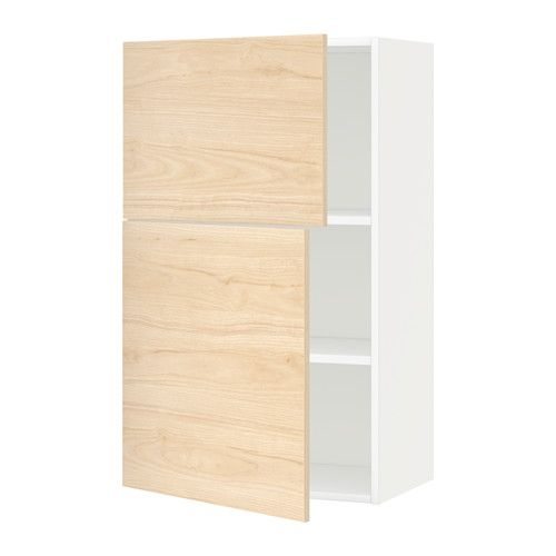 Best Ikea Metod Wall Cabinet With Shelves 2 Doors White 640 x 480