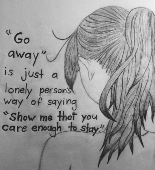 Sad Tumblr Quotes About Love: Tumblr Depression Drawing Quotes Depressing Tumblr