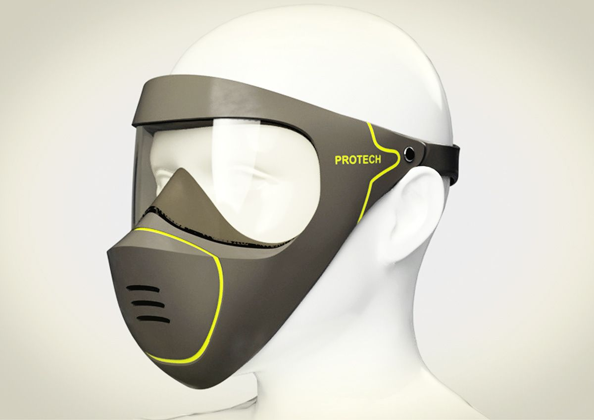 Mask On Behance In 2020 Mouth Mask Design Gas Mask For Sale Gas Mask