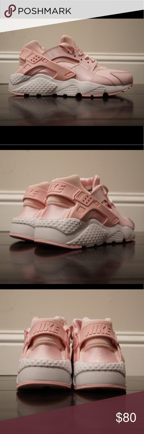 ba43cfc8bcd9 Nike Air Huarache Run SE Pink White 904538-600 Brand New with Box
