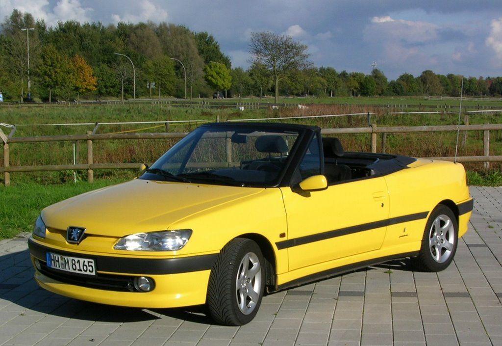 Peugeot 306 Technische Daten Und Verbrauch Peugeot Yellow Cabs Convertible