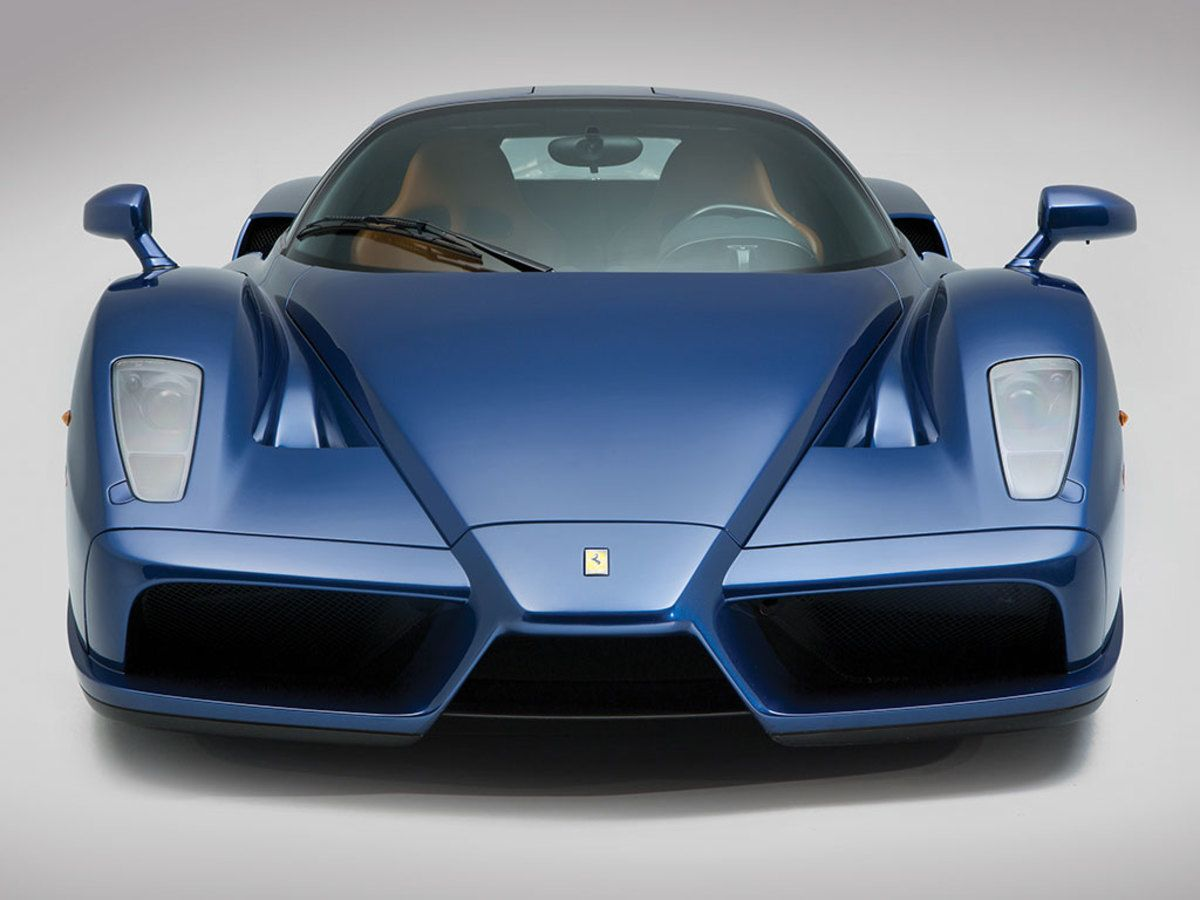This Blu Tour de France Enzo will make you forget about Ferrari Red