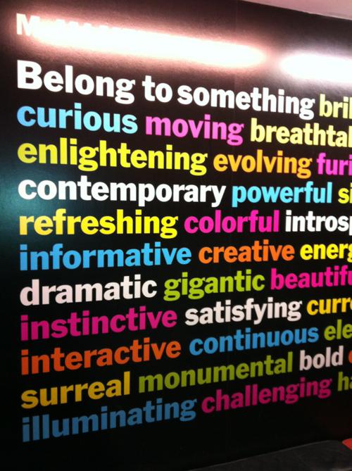 Belong to something...