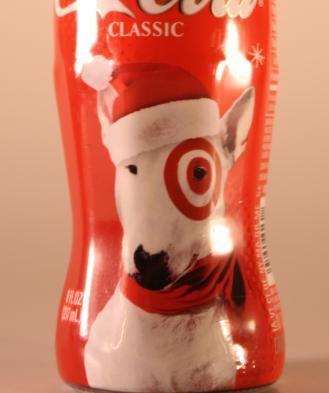 Coke Coca Cola 2004 Target Christmas Holiday Commemorative Bottle
