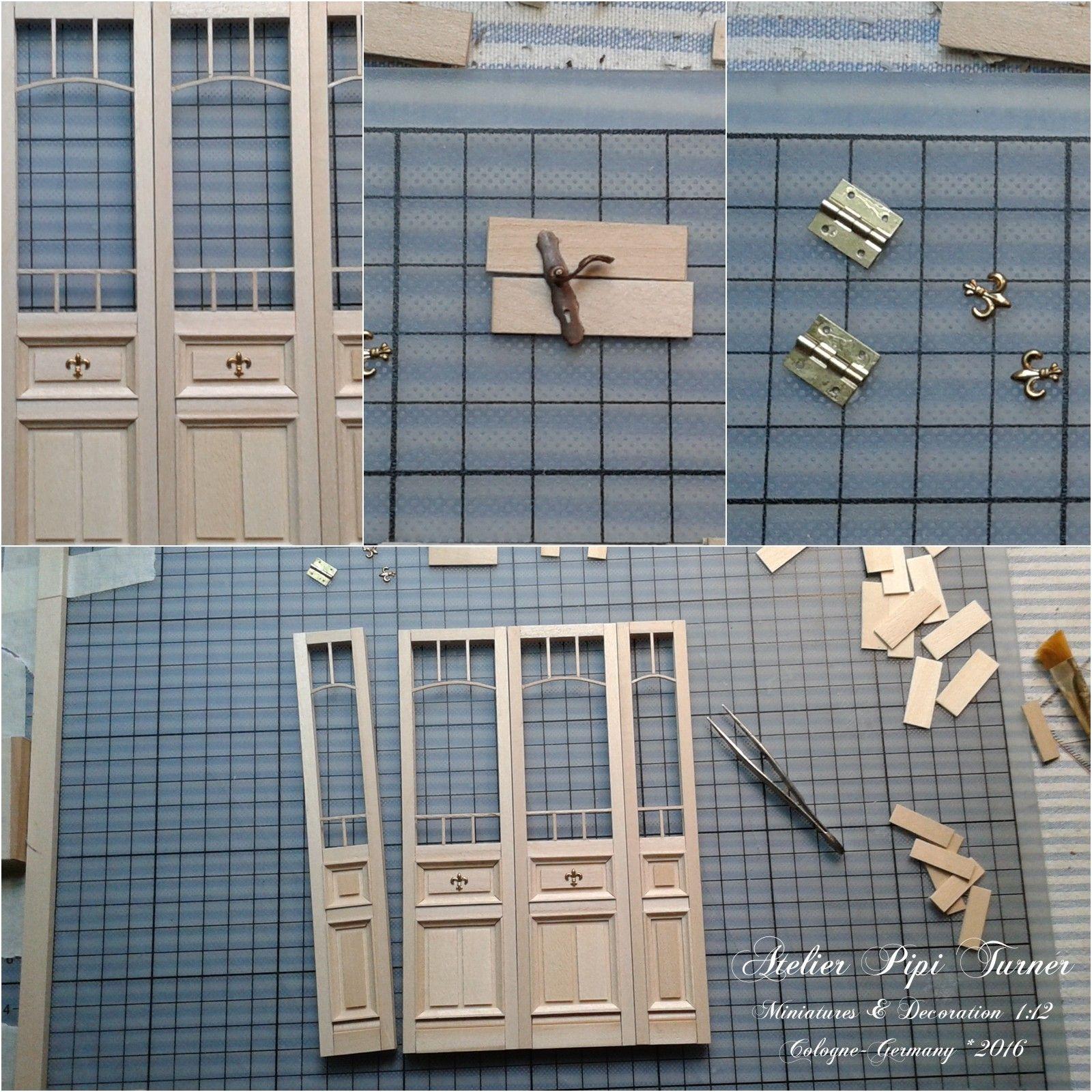Dollhouse Miniatures Diy Tutorials: Pipi Turner Miniatures ♥: Working Door