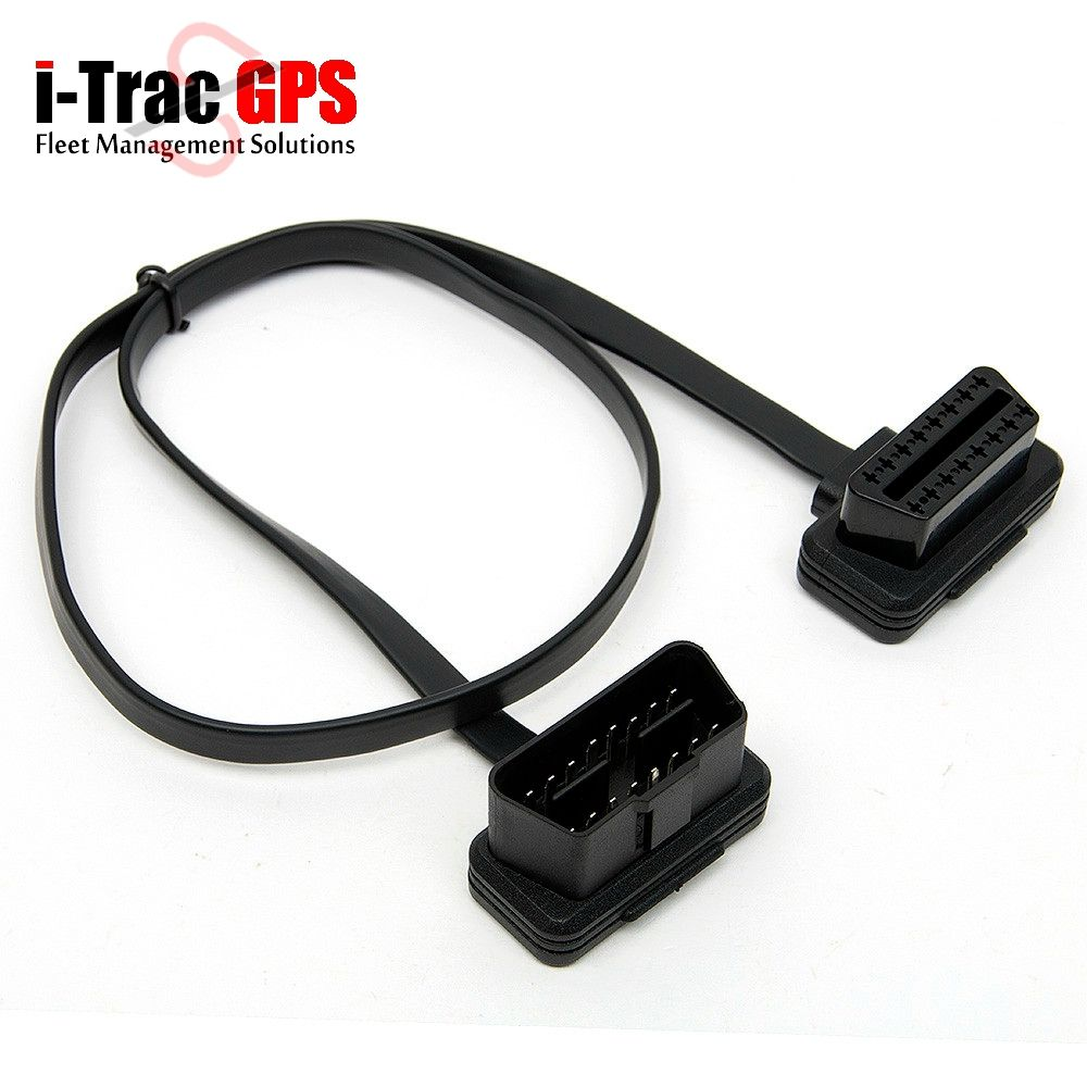 Flat Thin As Noodle OBD 2 II OBDII OBD2 16 Pin Male to Female ELM327 ...
