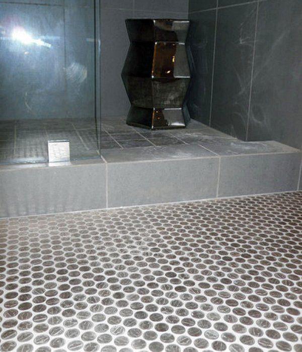 Coin Art Creative Flooring Tile Floor Penny