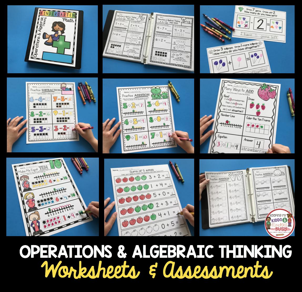 Operations Amp Algebraic Thinking Bundle