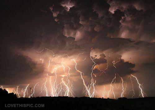 Amazing sky photography rain storm night clouds  nature