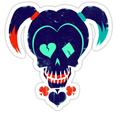 Suicide squad harley quinn stickers by 5600 redbubble bubble stickerslaptop stickersprintable