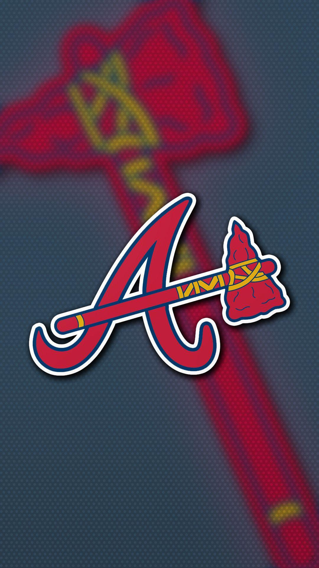 Iphone Wallpaper Atlanta Braves in 2020 Atlanta braves