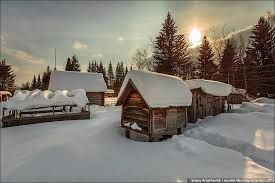 country in winter