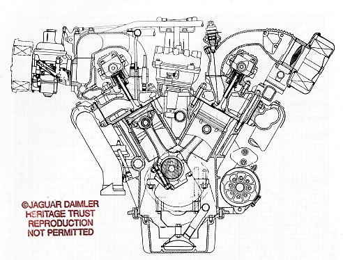 v12 engine diagram
