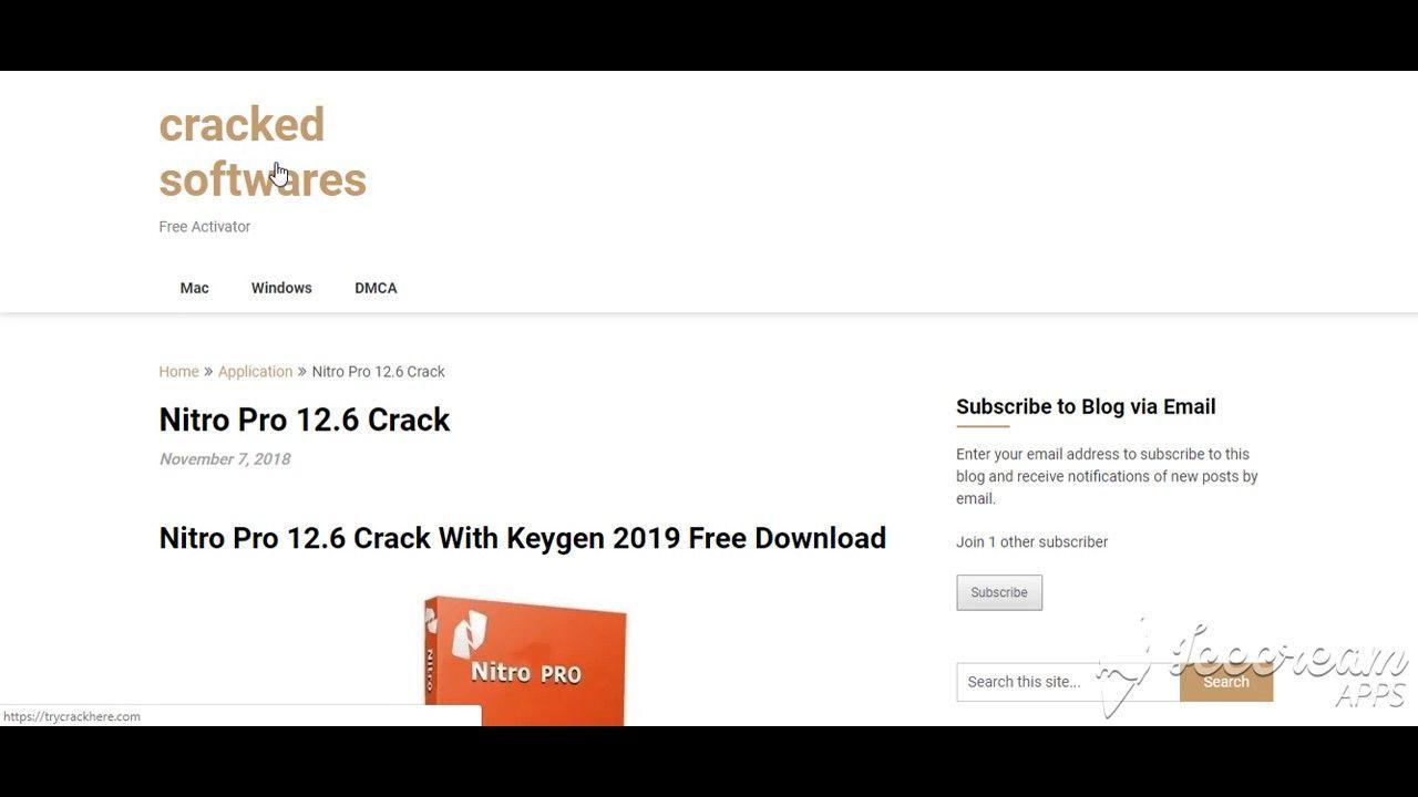 Nitro Pro 12 6 Crack With Keygen 2019 Free Download | IObit
