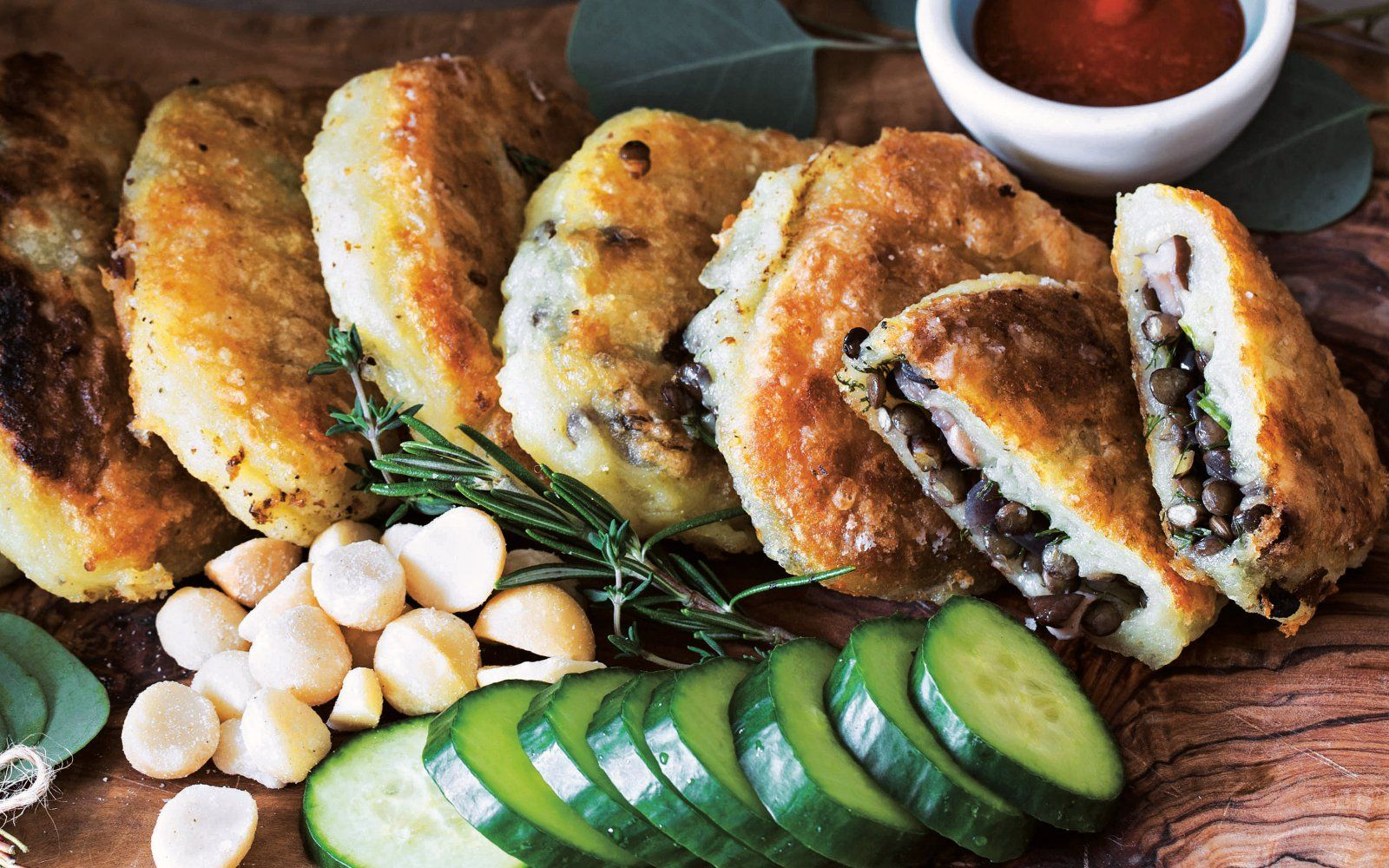 Lentil-Stuffed Potato Cakes [Vegan, Gluten-Free, Soy-Free ...