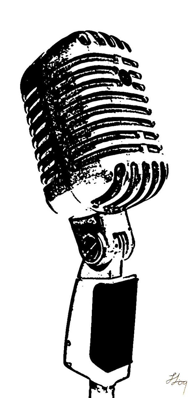 microphone drawing symbol - Google Search | Gallery Wall ...