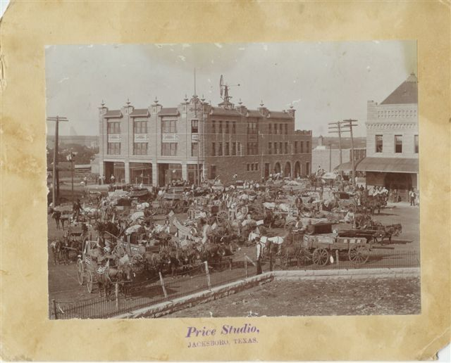 Downtown Jacksboro Tx Photo Record Texas History Photo