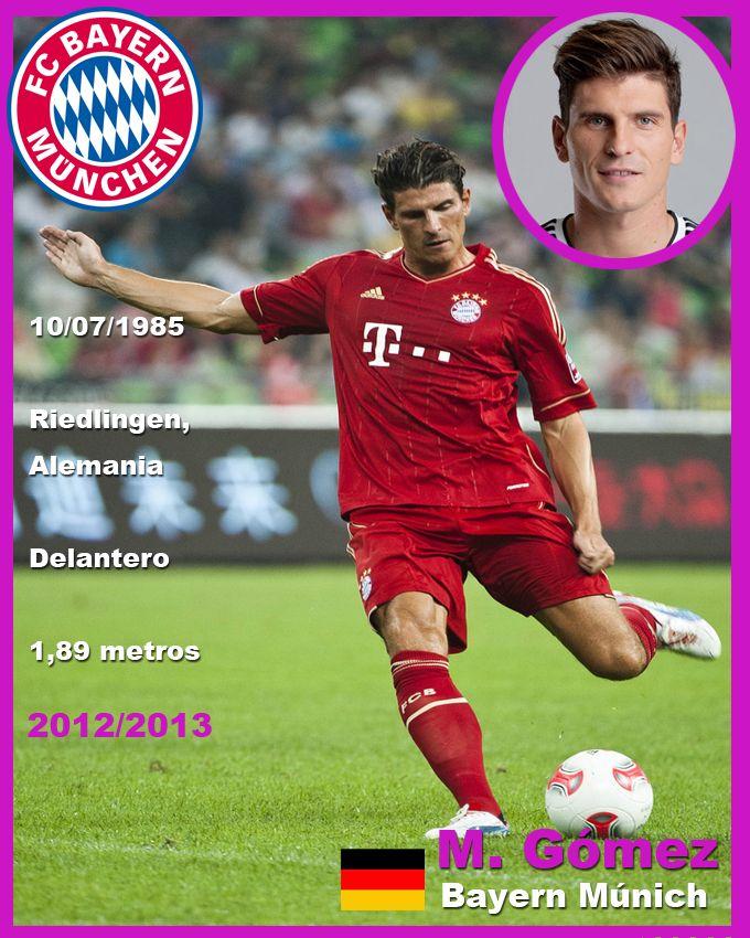 Mario Gomez Mario Gomez Soccer Pictures Vfl Wolfsburg