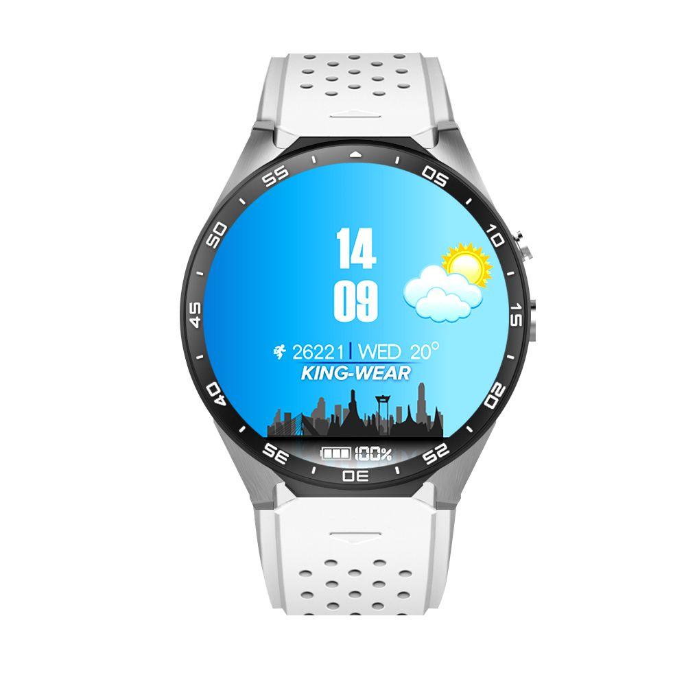 Kaimorui MTK6580 KW88 Smart Watch Phone Life Waterproof