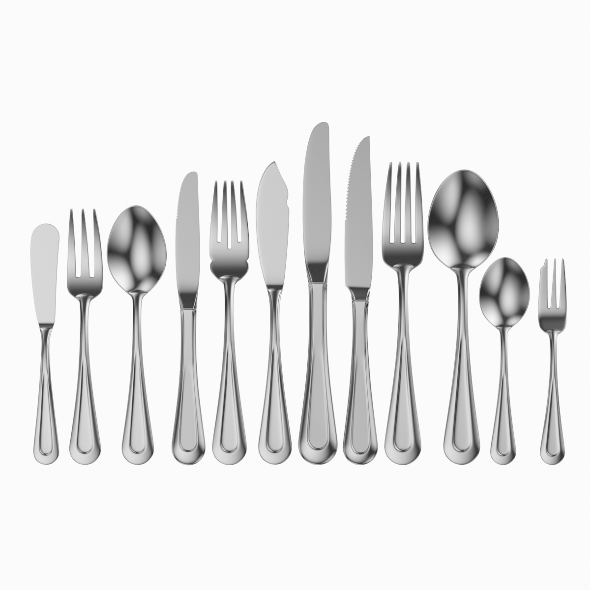Classic Cutlery Set 12 Pieces Classic Cutlery Cutlery Set Fish Knife