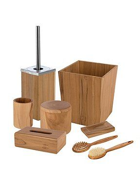 Move Teak Wood Bathroom Accessories House Of Fraser Wooden