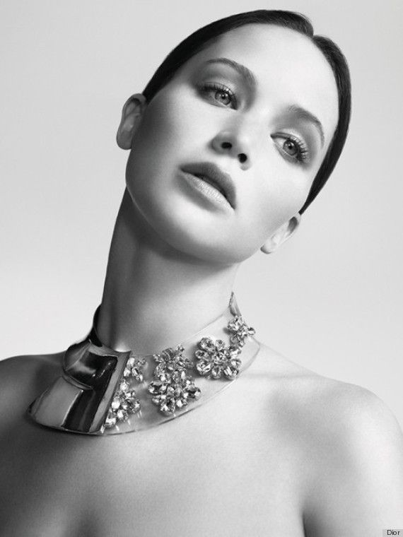 Jennifer Lawrence for Dior. I'm not even sorry I'm pinning her again. Beautiful.