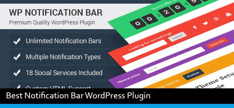 3 Best Notification Bar WordPress Plugin Of 2020 ...