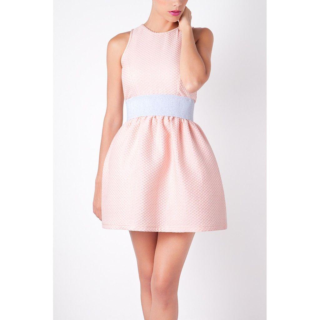 Pastel Pink Dress - Anamayadesign