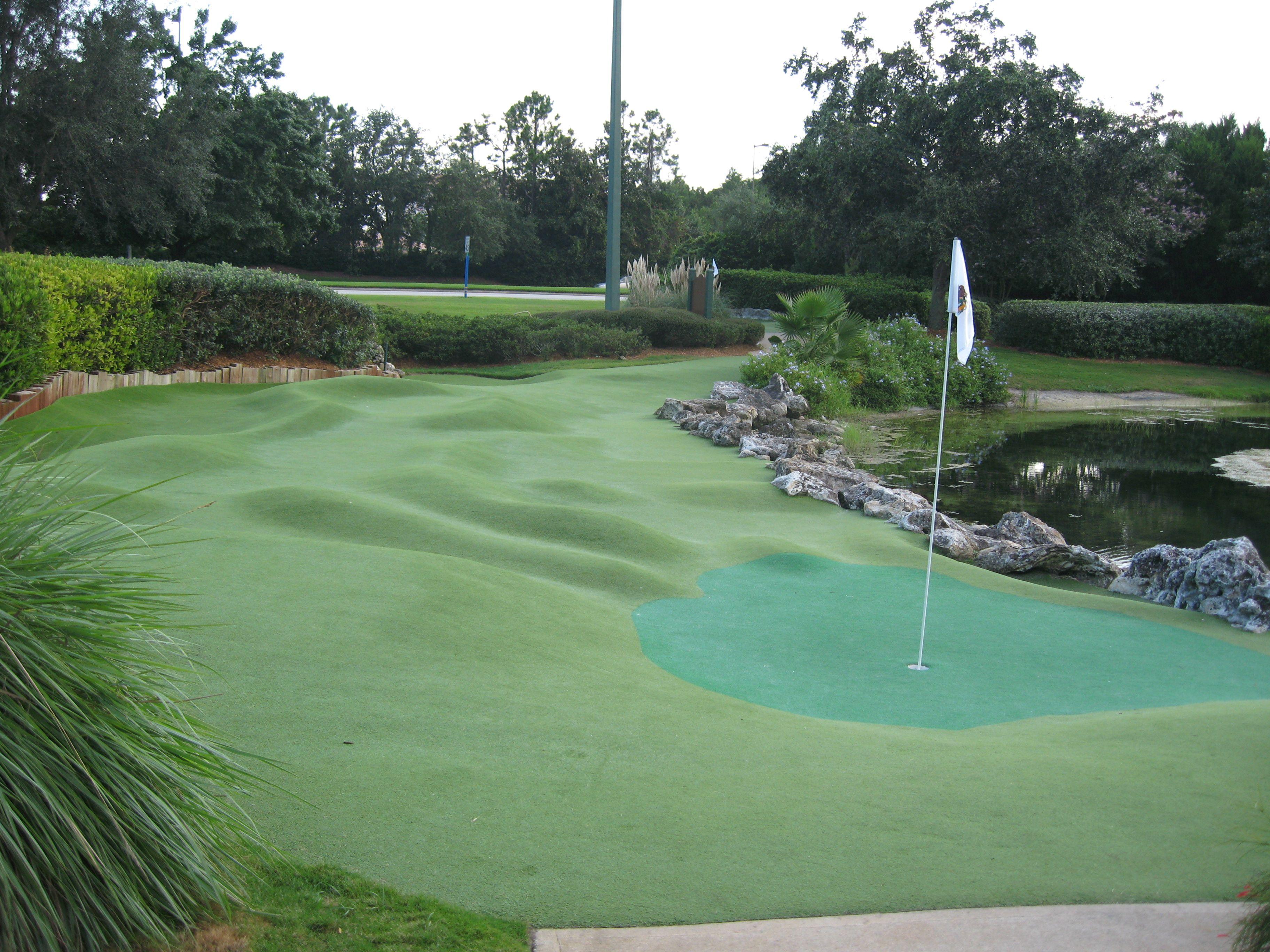 Fantasia Gardens Miniature Golf Fairways Course The