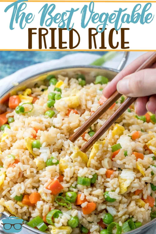 Easy Vegetable Fried Rice Karissa S Vegan Kitchen Recipe Veggie Fried Rice Recipes Fried Rice
