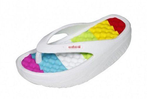 0c2c5af50e5b08 Women s Beach Wedges Platform Massage Thong Slippers Sandals Casual High  Heel Flip Flops (7