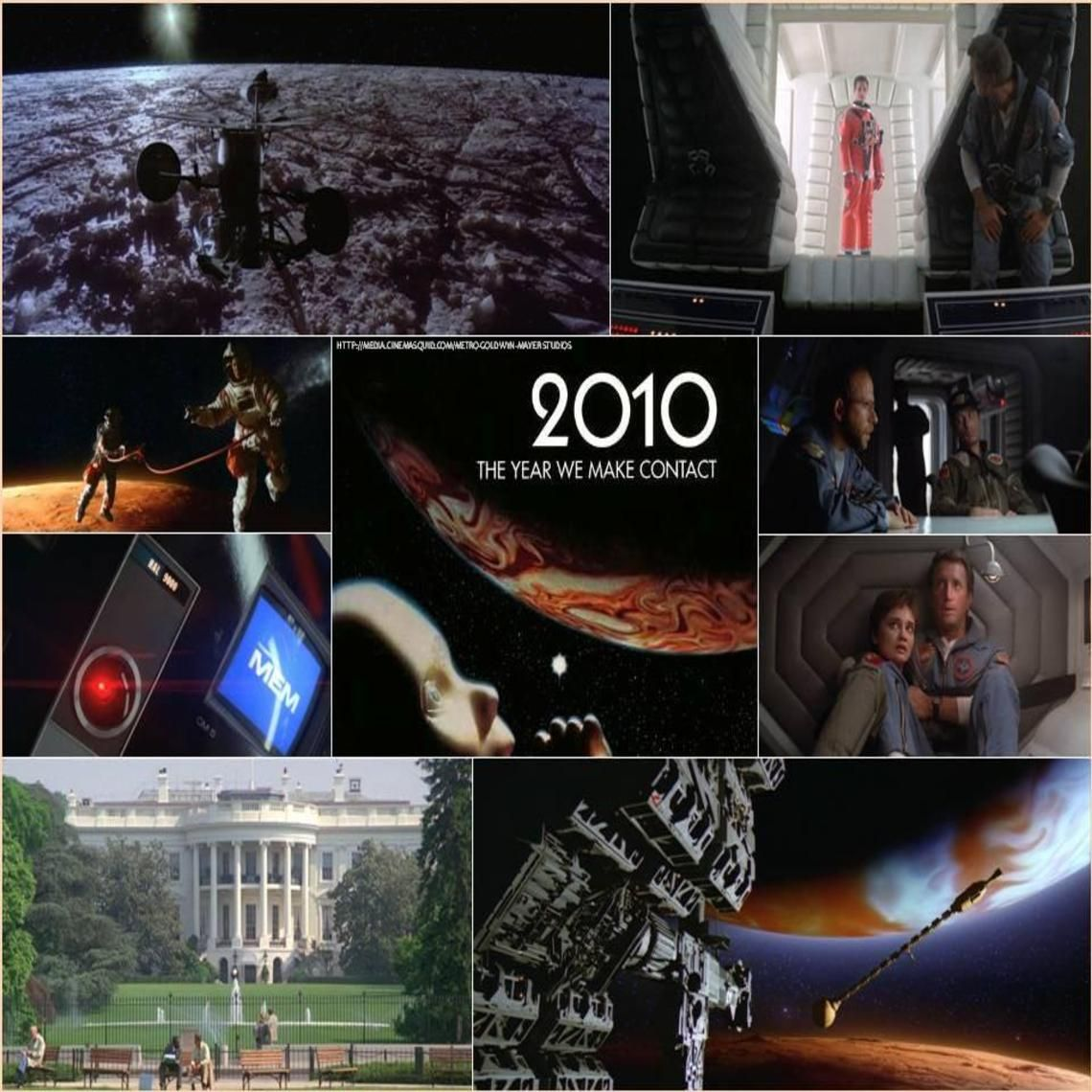2010 The Year We Make Contact 1980s Movie Posters Science